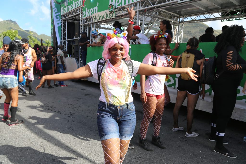 Val the bunny for jouvert