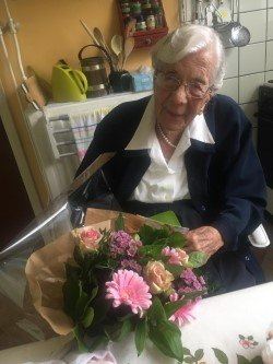 Pensioner in the Netherlands surprised on 100th birthday milestone